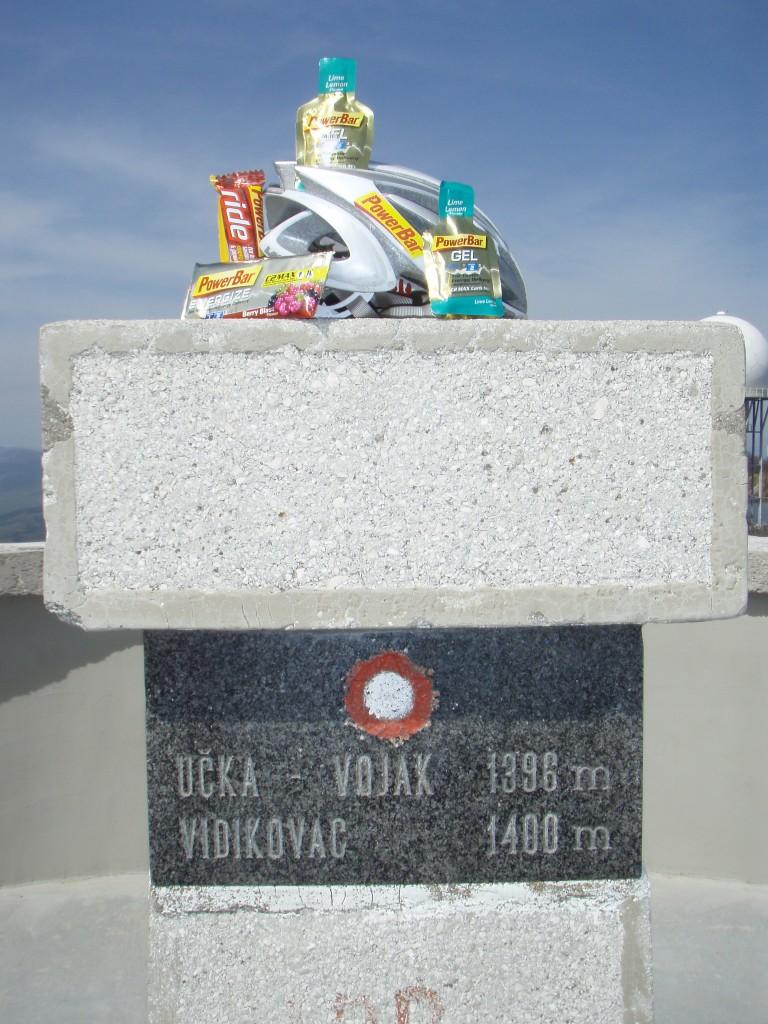 Mit PowerBar auf den Ucka, das Dach Istriens (Kroatien).