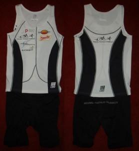 Meine Wettkampfbekleidung 2011 - schwarz/weiß