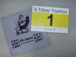 Nr. 1 beim 25. Tölzer Triathlon!