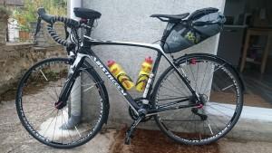 Mein Rad, fertig für PBP