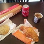 Frühstück in Brest